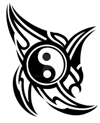 tribal yin yang 002 design idea by ally on deviantart