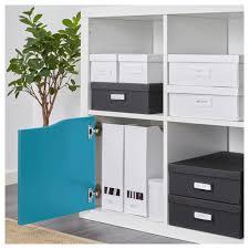 Kallax Filing Cabinet Kallax Insert With Door Turquoise 33x33 Cm Kallax Insert Ikea