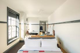 Bedroom Furniture Looks Like Buildings Steal This Look A Bedroom Suite At The New Ace Hotel Pittsburgh