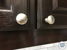 where to put handles on kitchen cabinets knobs on everything plus tips to install creatingmaryshome com