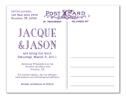 consider a postcard for your save the dates you could put a