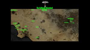 Fallout Vault Map by Project Brazil Worldmap California Image Mod Db
