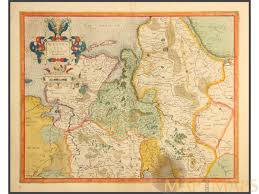 East Germany Map by Old Maps Of Germany Westfalia Diocesi Bremensi M U0026m