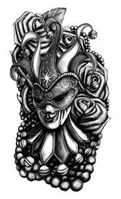 19 mardi gras tattoo images pictures and ideas