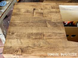 the wood flooring countertop part ii domestic imperfection