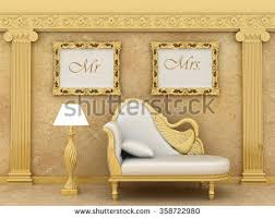 wedding gift anniversary mr mrs prints wedding stock illustration 358722980