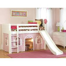 Princess Castle Bunk Bed Bunk Beds Princess Castle Bunk Bed With Slide Image Of Themed