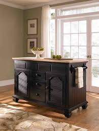 colored kitchen island cart with pull out table broyhill mirren
