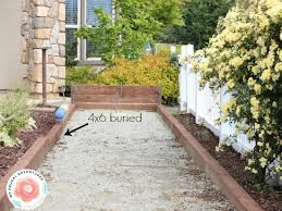How To Build A Horseshoe Pit In Your Backyard Build A Bocce Court In Backyard Outdoor Goods