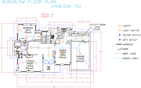 apartment floor plans autocad interior design
