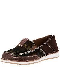 cruiser boots ariat women u0027s cruiser camo slip on shoes brown