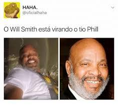 Will Smith Meme - haha oficial haha o will smith esta virando o tio phill meme on sizzle