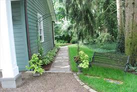 landscaping ideas along side of house backyard fence ideas