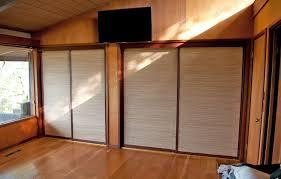 bamboo closet doors home interior design