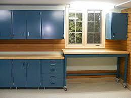 blue polished metal garage cabinet set with wheeled working table blue polished metal garage cabinet set with wheeled working table stylish metal garage storage cabinets