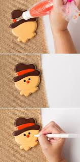 377 best autumn fall cookies images on pinterest fall cookies