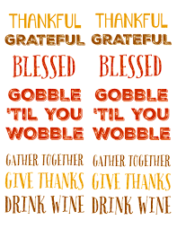 thanksgiving sayings labels label templates ol150