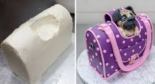 cake purse handbag style pet carrier cake how to by cakesstepbystep