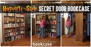 hogwarts style secret door bookcase for book lovers u2013 cute diy