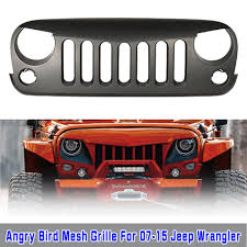 jeep wrangler front drawing aftermarket abs custom black front hood grill for jeep wrangler jk