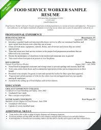 Serving Resume Template Resume Banquet Hall Server Resume Sample Food Service Waitress
