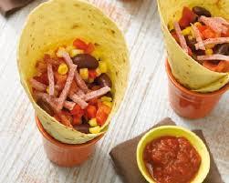 recette mexicaine fajitas aux allumettes de jambon