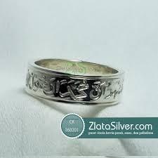 cincin perak cincin perak single kaligrafi zlata silver