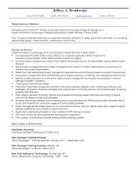 emr resume objective intern template gopitch co sle records