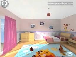 chambre virtuelle visite virtuelle 3d chambre fille 3