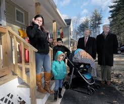 family receives wayland home from habitat for humanity news