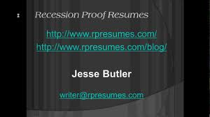 reverse chronological resume format youtube