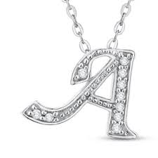 A To Z Blinds Initial Diamond Necklaces Shop The Best Deals For Nov 2017