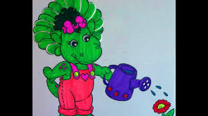 barney friends coloring book pages kids fun art