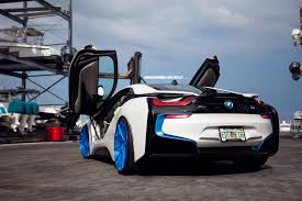 matte bmw i8 bmw i8 adv10r m v2 sl wheels polished matte peek a blue clear