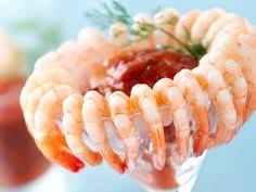 Cocktail Party Food Recipes Easy - simple shrimp cocktail presentation for your holiday gatherings