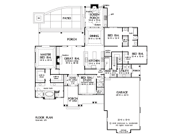 How To Draw A House Floor Plan Home Plan The Drake By Donald A Gardner Architects
