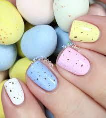 happy easter mini egg nails peachy polish