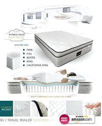 California Travel Mattress images Trailer mattress sizes determine your size d mattresses ontario jpg