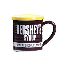 Kitchen Collection Hershey Pa Amazon Com Hershey U0027s Syrup Can Mug With Lid 14oz Kitchen U0026 Dining