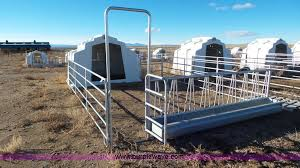 Calf Hutches For Sale 10 Agri Plastics Calf Hutches Item J8341 Sold Februar