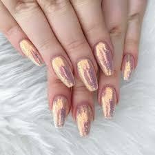 iridescent glitter nails nails pinterest glitter nails
