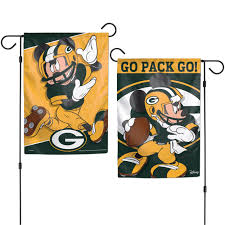 Mini Garden Flags Green Bay Packers Flags And Banners At The Packers Pro Shop
