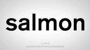 How Do U Pronounce Meme - how to pronounce salmon youtube