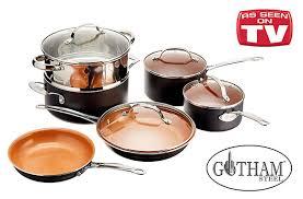 la batterie de cuisine batterie de cuisine gotham steel 35 de rabais offert sur tuango ca