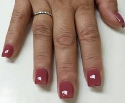 short square acrylic nails with gel polish yelp