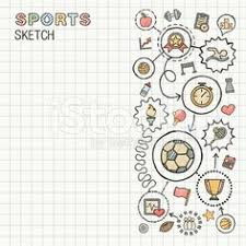 sketch set infographic hand drawn elements icons doodle 59696396