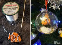 finding dory diy tree ornaments munchkins