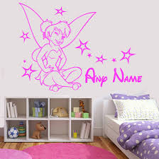 personalised tinkerbell wall art disney fairy princess girl personalised tinkerbell wall art disney fairy princess girl