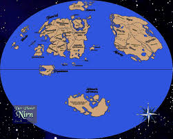 Map Of Skyrim Map Of Nirn Is There Ever Any Interaction Between Tamriel And The