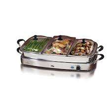 elite platinum set of 3 deluxe 2 5qt stainless steel electric